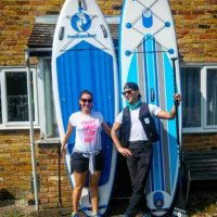URGENT! 2 x inflatable SUP Packages (with everything) for sale (together). Bought them in April.